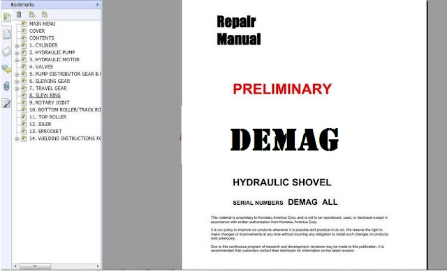 Demag manuals img img array free automotive manuals komatsu hydraulic mining shovels rh freeautomotivemanual blogspot com fandeluxe Image collections