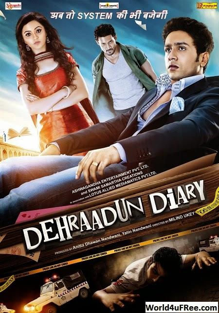 Dehraadun Diary 2013 Hindi 720p WEBRip 750mb