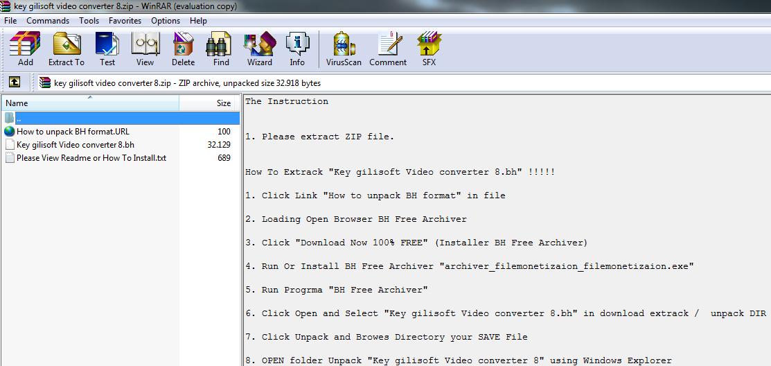 WinRAR 5.00 Beta 3