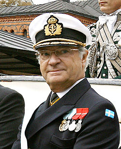King Of Sweden Carl XVI Gustaf