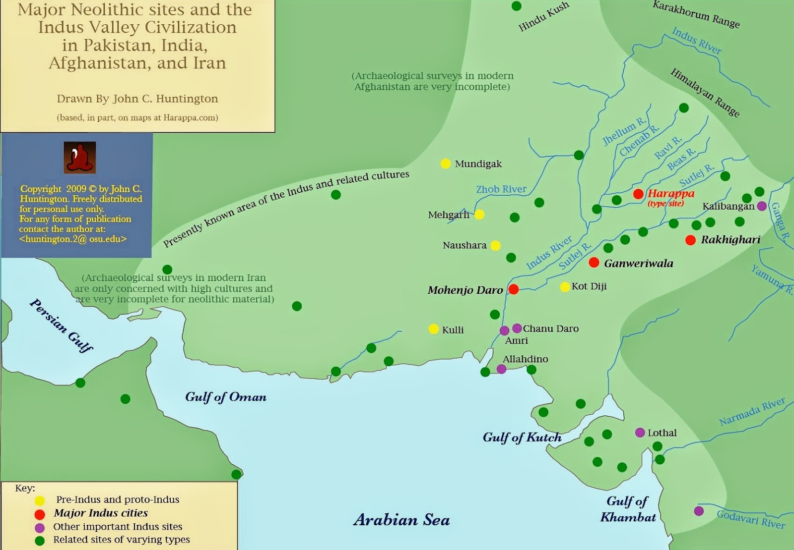 Ancient India Map Harappa.Ancient Vedic India Map Of Indus Valley Civilization In Relation To