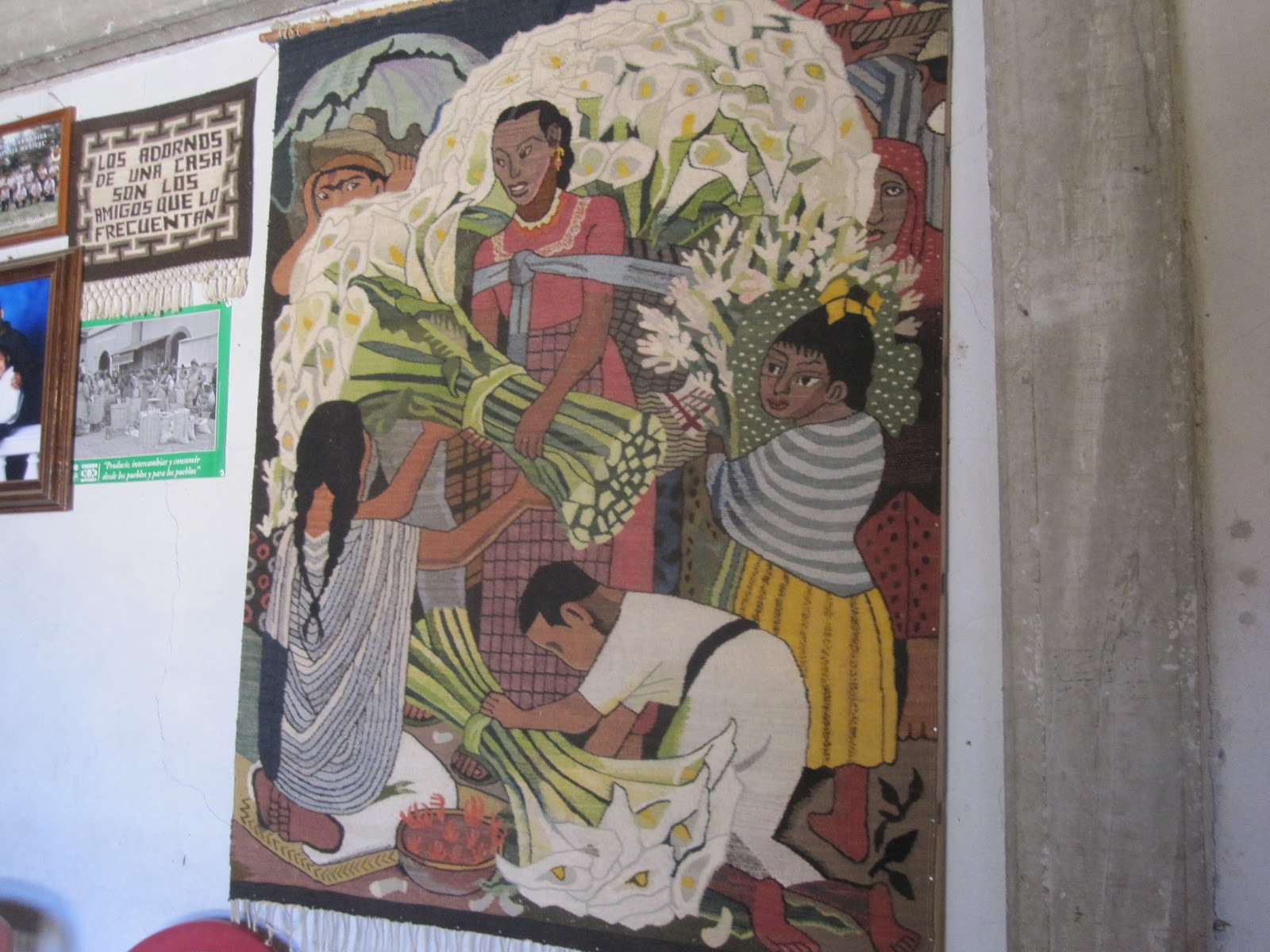 The bogaards in mexico tepetes my visit with oaxaca 39 s for Diego rivera famous mural