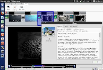 instale ffdiaporama 16 movie creator no ubuntu e