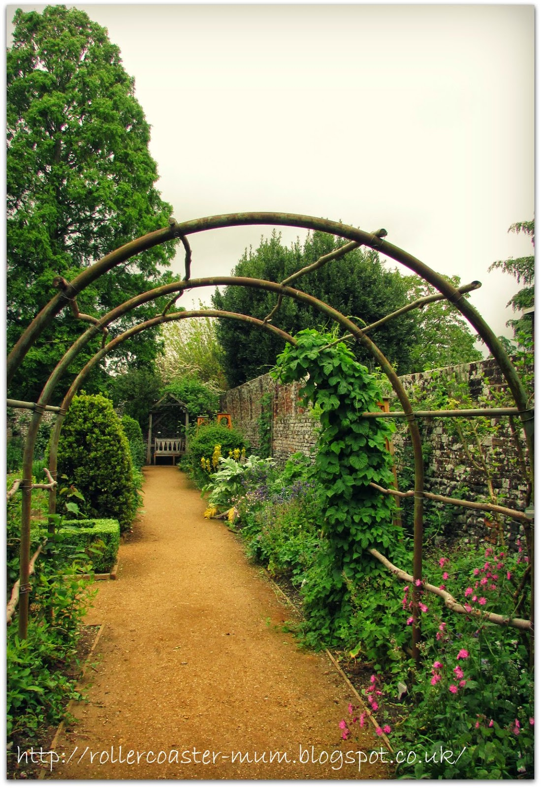 #alphabetphoto, G is for Garden, Petersfield Physic Garden , arch