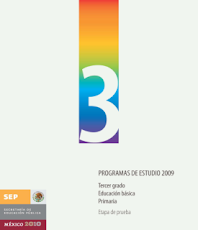 PROGRAMA TERCER GRADO