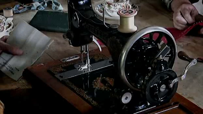 Edwardian Sewing Machine