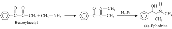 Synthetic Method: synthesized (±)-Ephedrine