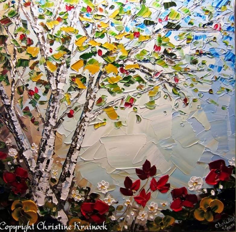 Cuadros modernos pinturas y dibujos cuadros texturados - Cuadros con texturas abstractos ...