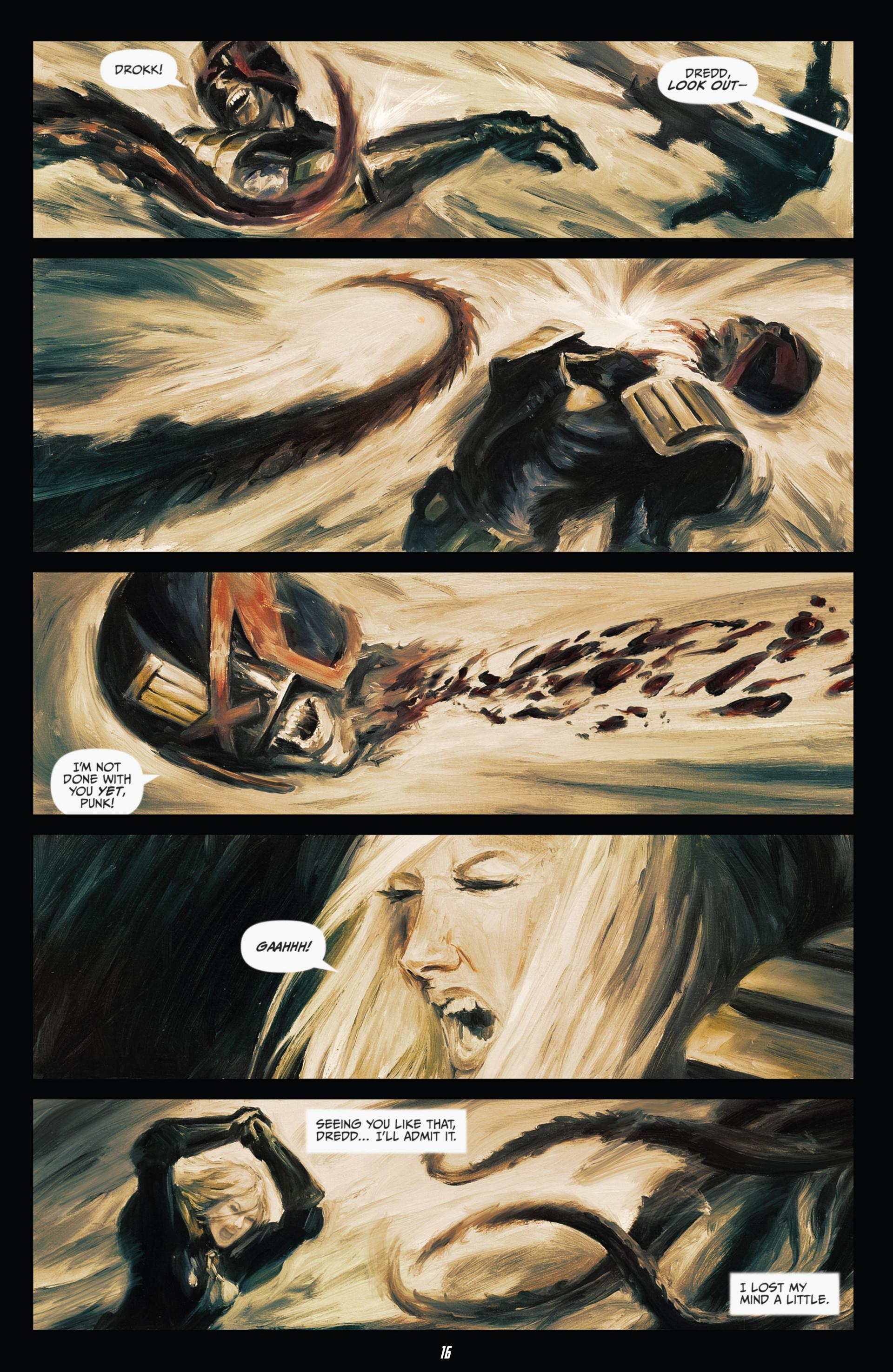 Read online Judge Dredd (2012) comic -  Issue #21 - 18