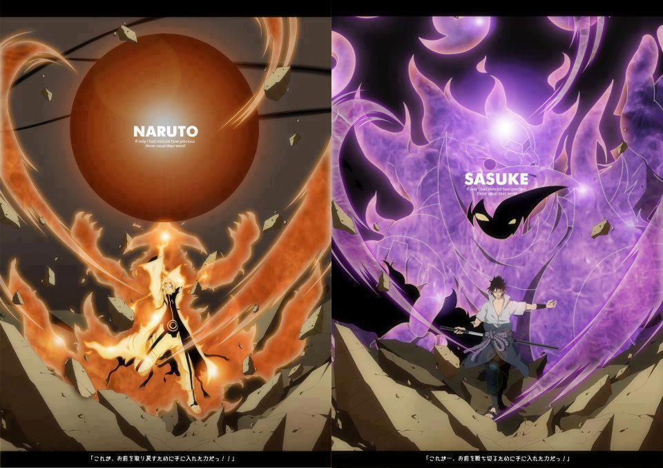 Naruto Kyuubi Cloak Sasuke Susanoo Wallpaper 0041