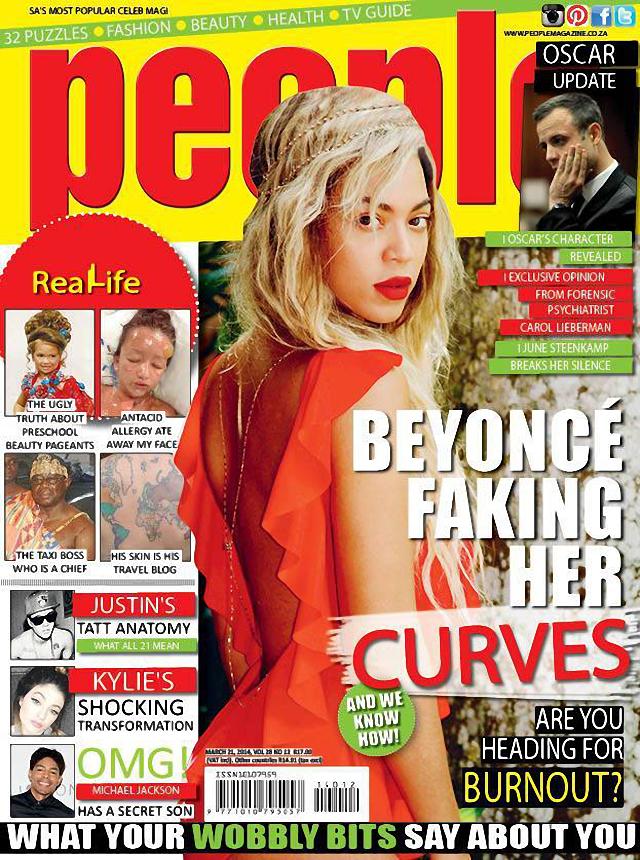 Beyoncé es la nueva portada de la revista People abril 2014