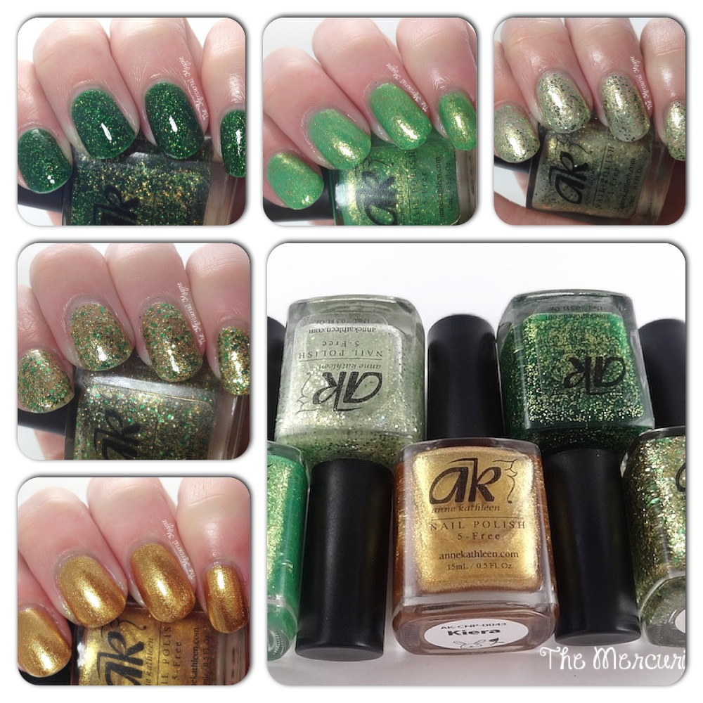 Anne Kathleen Golden Fields St. Patrick's Day Collection
