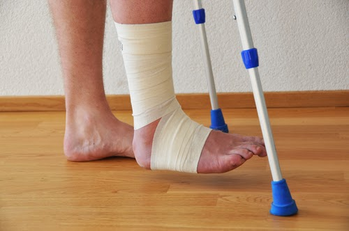 penyembuhan kaki patah