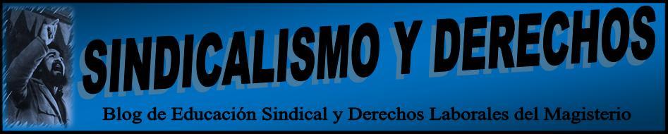 SINDICALISMO Y DERECHOS