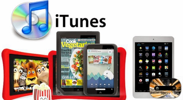 convert protected iTunes M4V video to Nabi 2, Nook HD/HD+ and Coby Kyro tablets