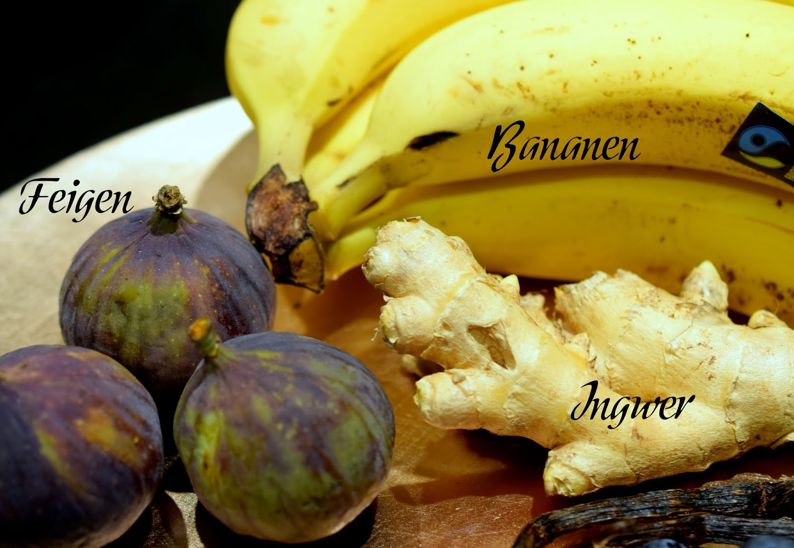 Top 10 Mood Foods Feigen Bananen Ingwer
