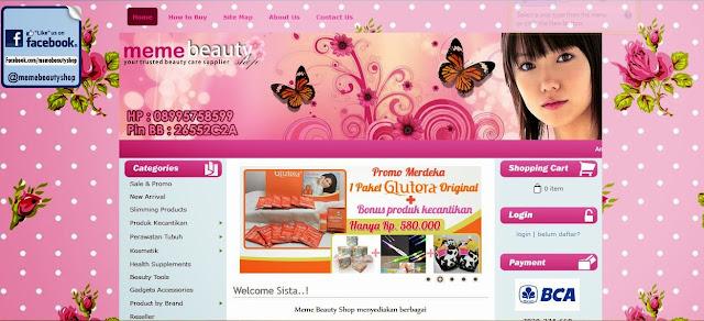 memebeautyshop.com toko kosmetik terpercaya