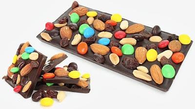 Imagem ilustrativa de uma Barra de Chocolate da Meu Choco