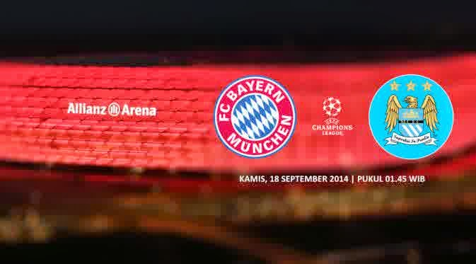 Formasi Pemain Muenchen Vs Manchester City