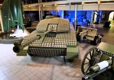 El tanque de guerra más extraño del Mundo.