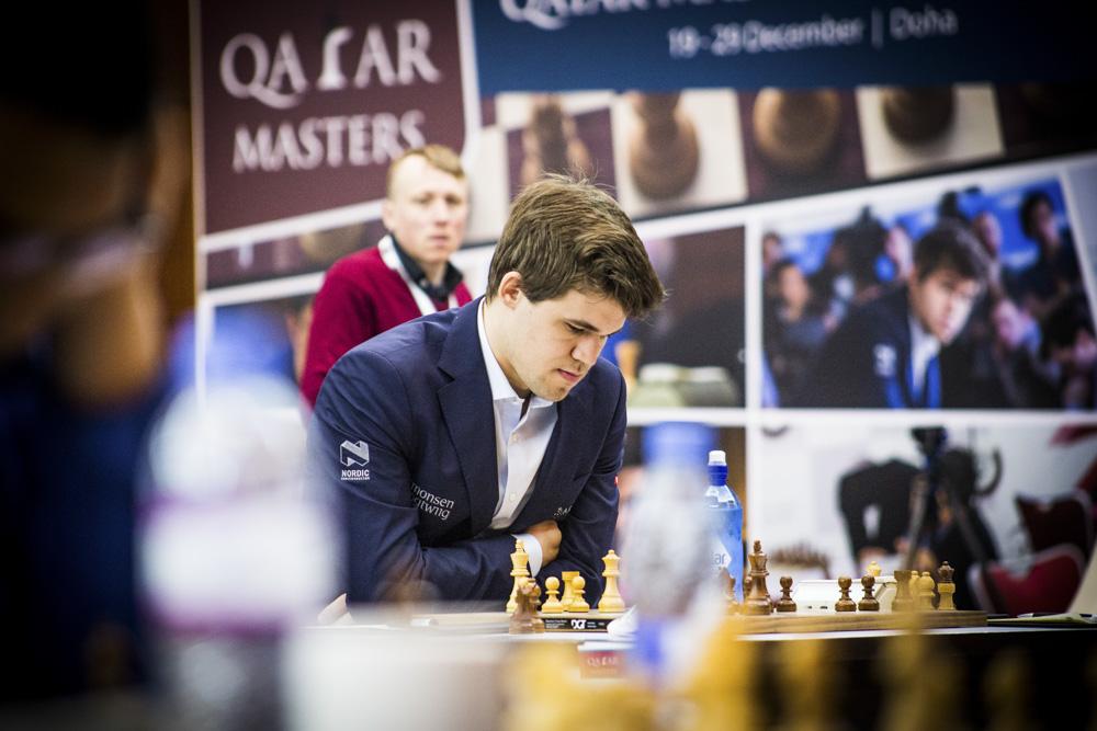Le champion du monde d'échecs Magnus Carlsen - Photo © Katerina Savina