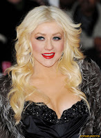 Christina Aguilera - Attends a ceremony of Gay Walk of Fame