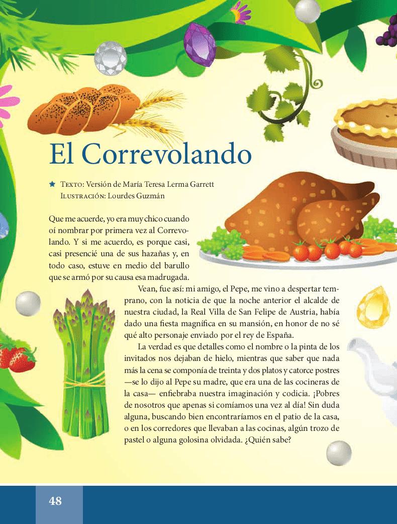 El Correvolando - Español Lecturas 5to 2014-2015