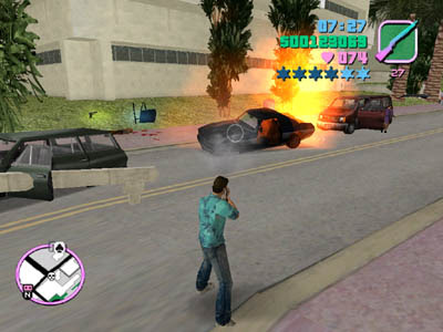 Imagenes de Grand Theft Auto Vice City pc