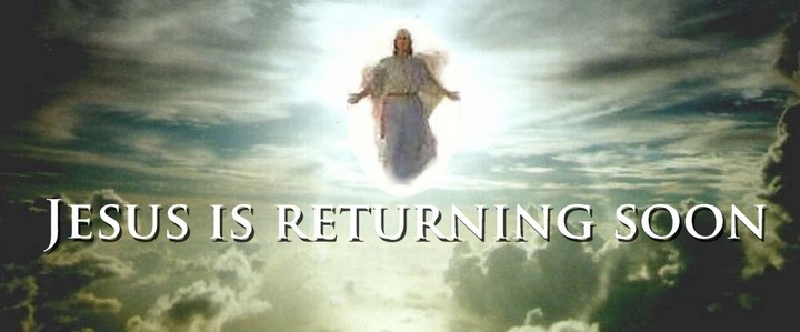 Jesus is returning soon