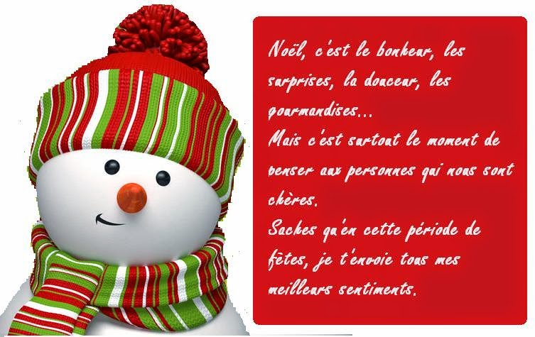 Message carte de noel humoristique