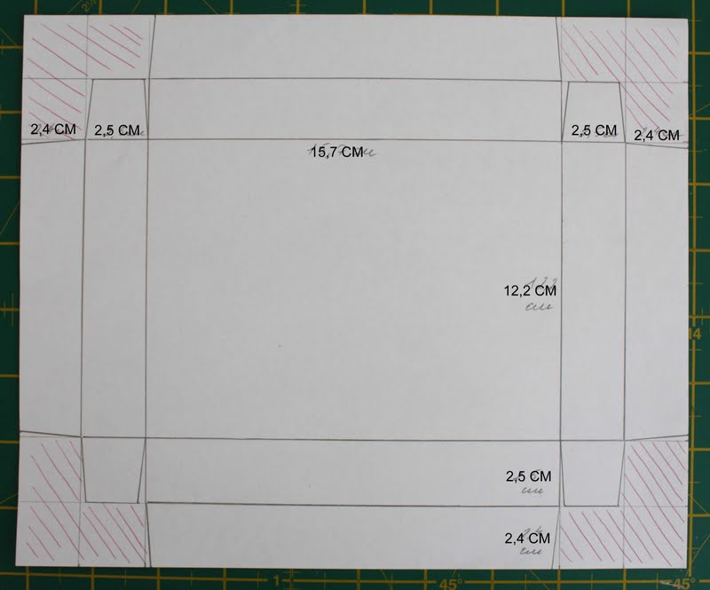Изготовление коробочки для открытки
