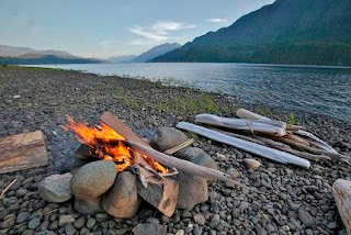 Nimpkish Lake Campfire
