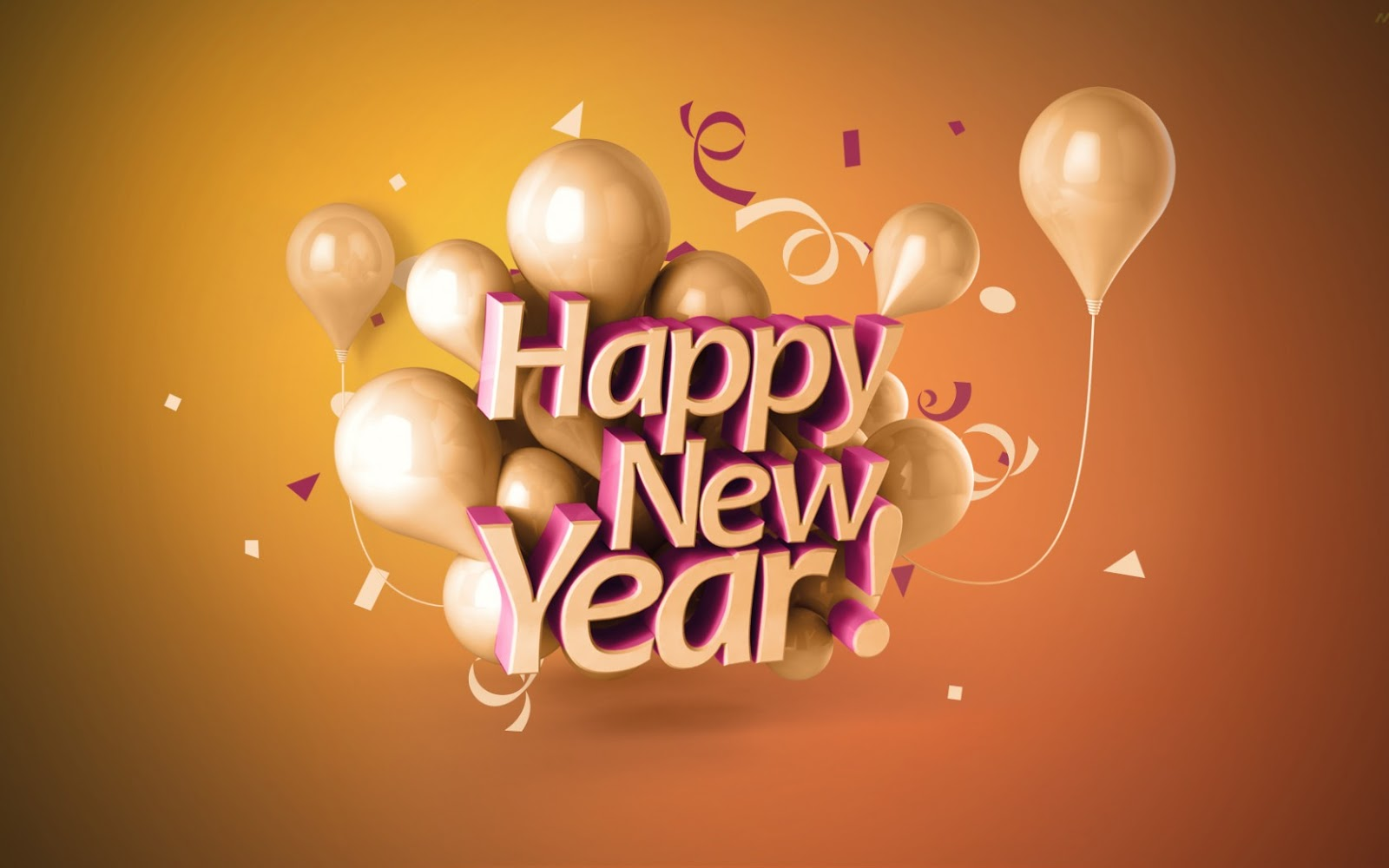 5 Best New Year 2017 3D Wallpapers