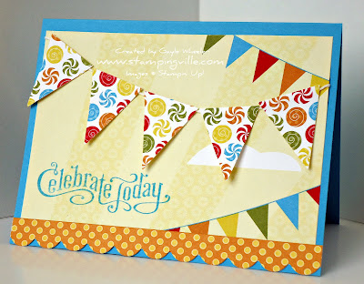 Big Top Birthday Easy Card Ideas
