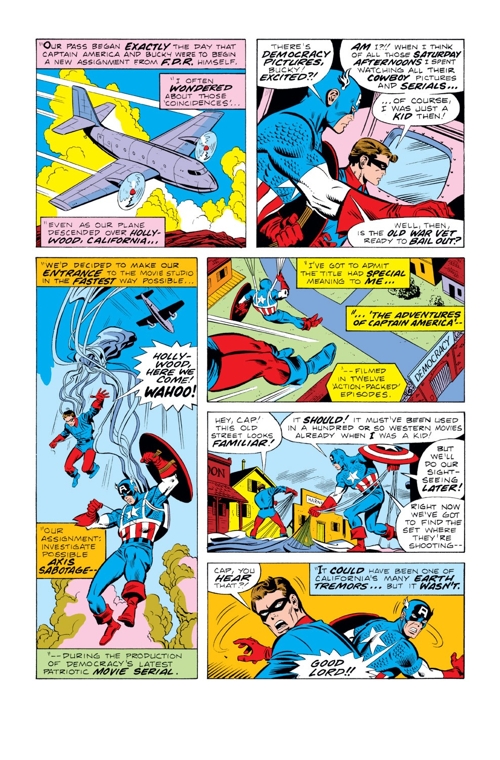 Captain America (1968) Issue #219 #133 - English 4