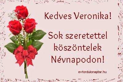 Veronika névnap