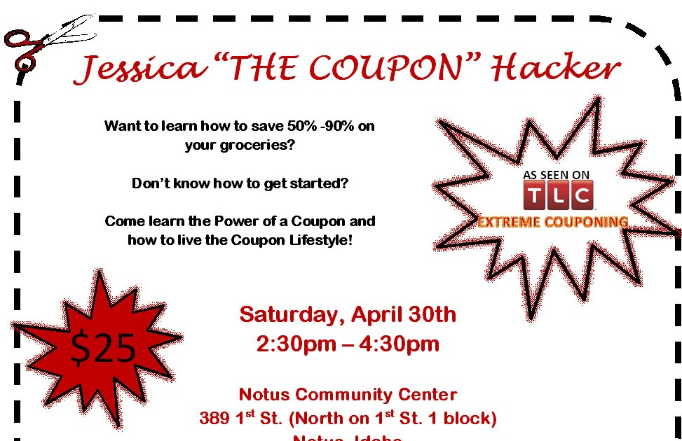 Jessica hacker coupons