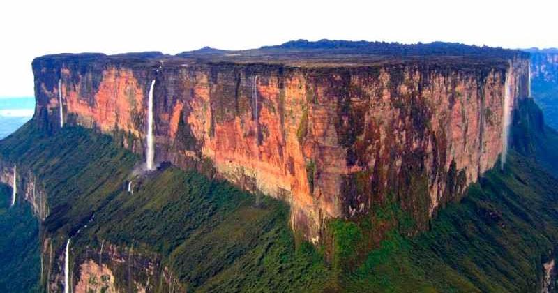 Gunung Puncak Datar Paling Terkenal Di Dunia Pulan Berita Unik