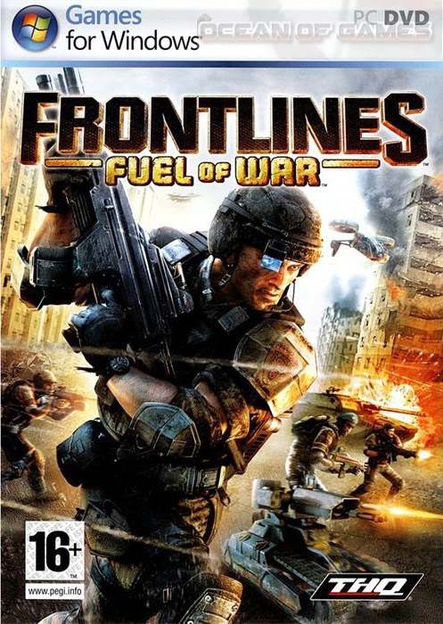 Frontlines Fuel Of War PC Full Crack Cover Logo