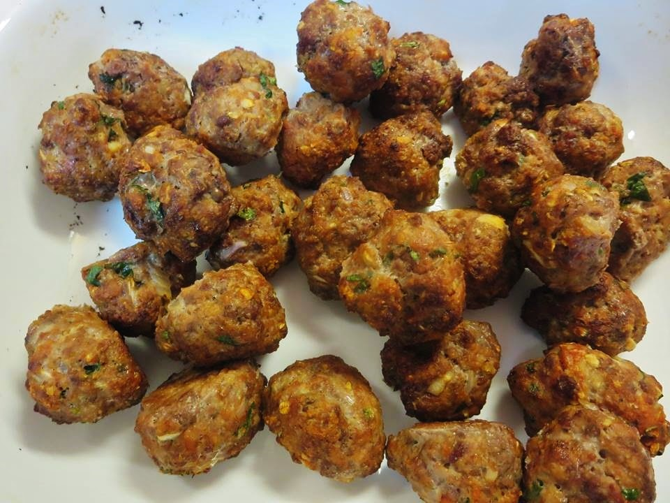Baked Turkey Meatballs with Sweet and Sour Sauce (with Coconut Palm ...