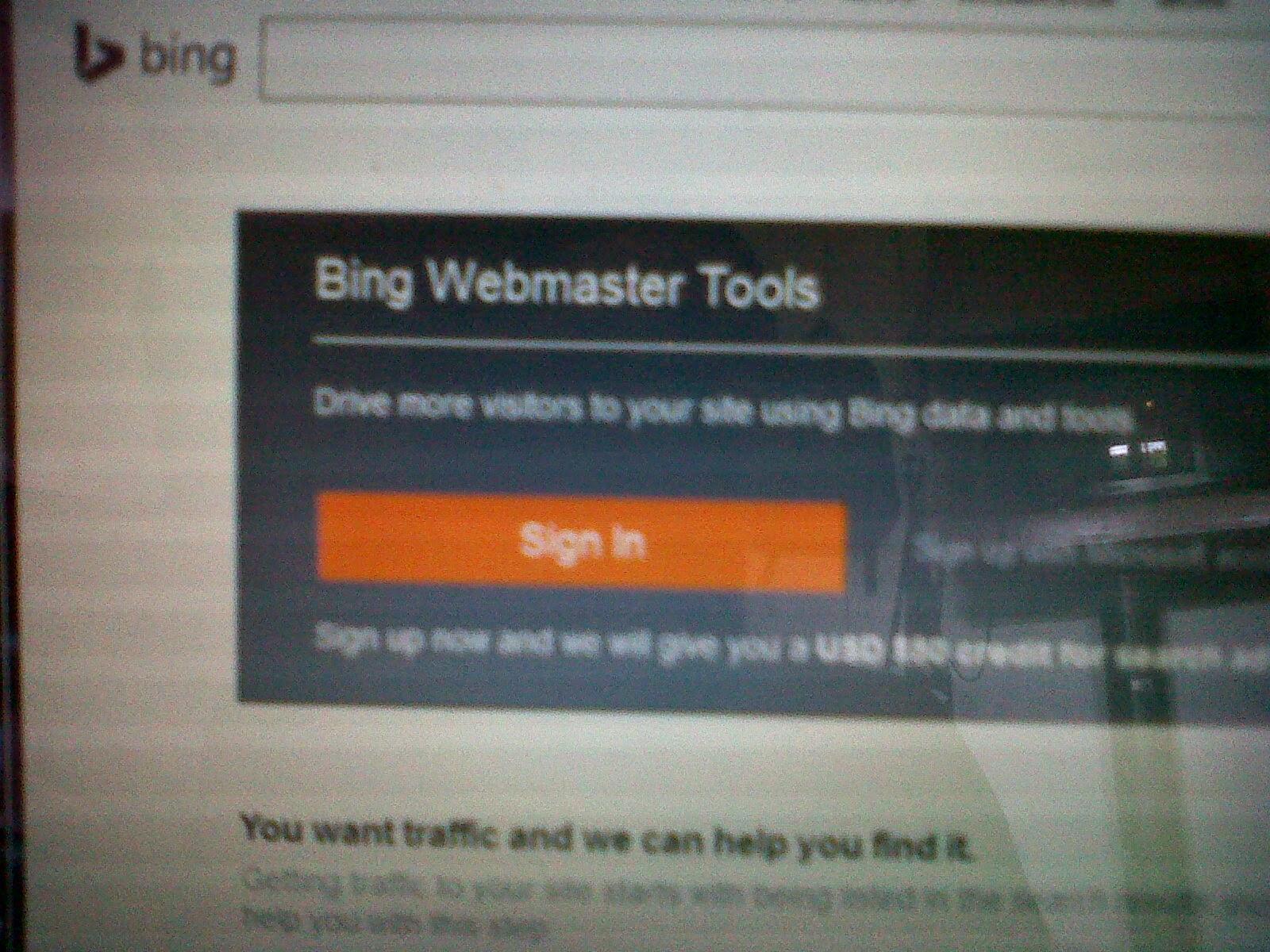 cara membuat sitemap di webmaster bing