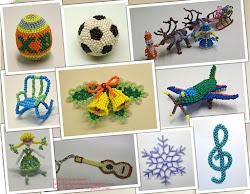 Наши лучшие мастер-классы: Игрушки из бисера