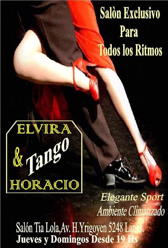 Elvira y Horacio Tango
