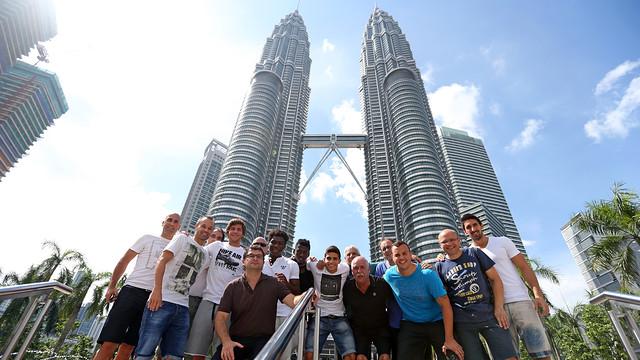 foto menara petronas malaysia indah
