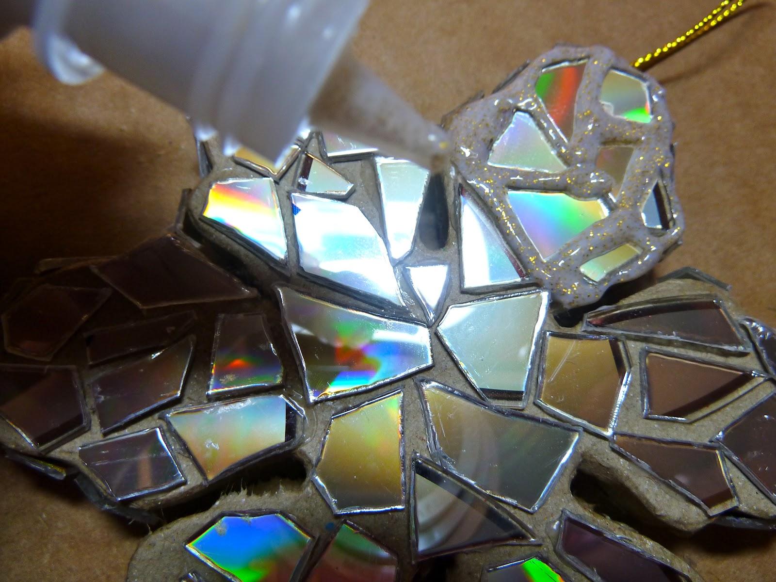 Декор из дисков своими руками мастер класс