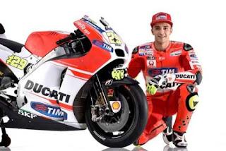 Andrea Iannone Nyatakan Siap Bantu Rossi di Valencia