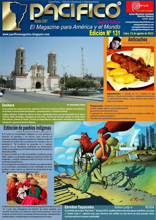 Revista Pacífico Nº 131 Turismo