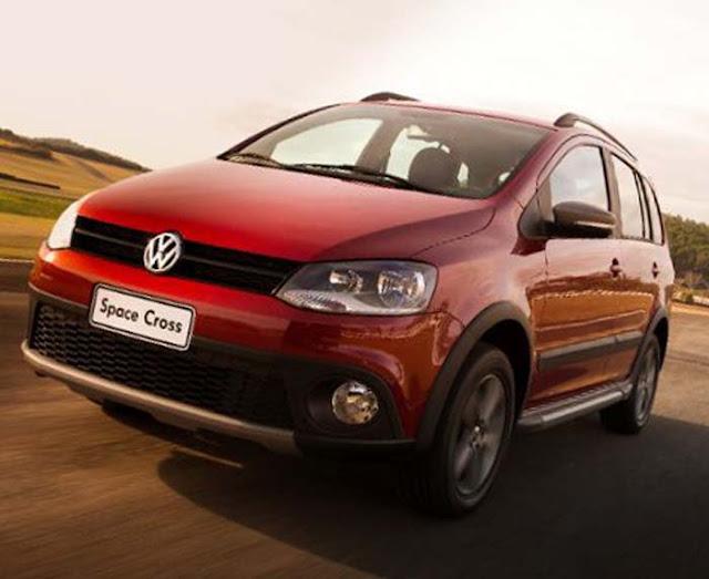 VW Space Cross 2012 - Lançamento