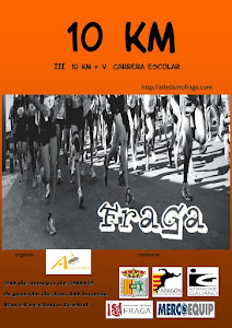 III 10 KM FRAGA + V Carreras Escolares
