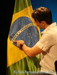 Claudio Lins no Espaço Finep (Rio).
